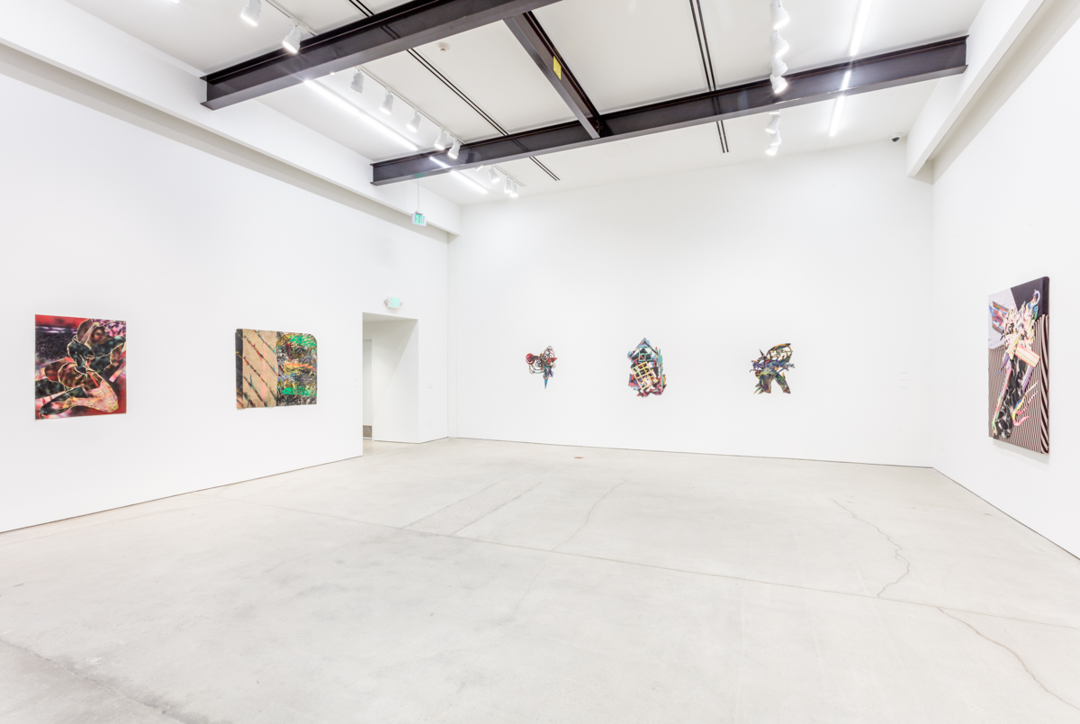 Installation view of Spiral Play: Loving in the '80s at Art + Practice,  Los Angeles. 22 April - 29 July 2017.  Photo by Joshua White/JW Pictures.