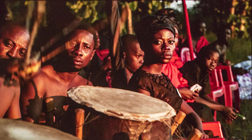 Akosua Adoma Owusu, Kwaku Ananse (film still), 2013. HD video, color, sound. 25 minutes. Courtesy of the artist and Obibini Pictures.