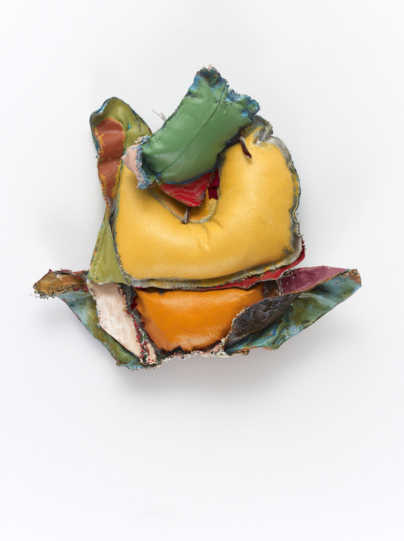 John Outterbridge, Rag and Bag Idiom I, 2012. Mixed media. 14 ½ x 15 ¾ x 3 ½ inches. The Eileen Harris Norton Collection. Image courtesy of Tilton Gallery, New York.