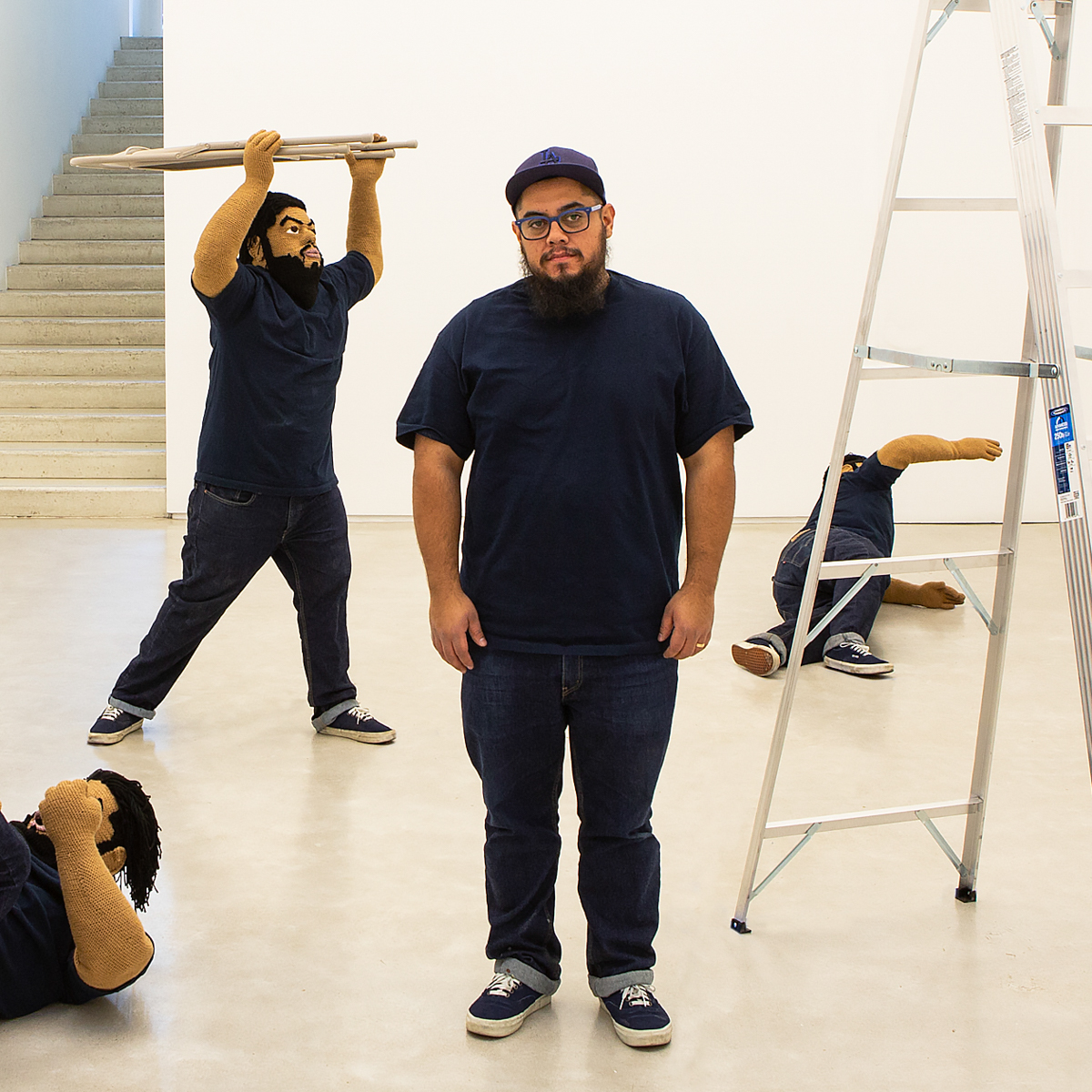 Installation view of Another Thing You Did to Me, by Luis Flores at Salon 94, New York. 5 March - 20 April, 2019. Photographer unknown. Courtesy of the artist and Salon 94, New York.