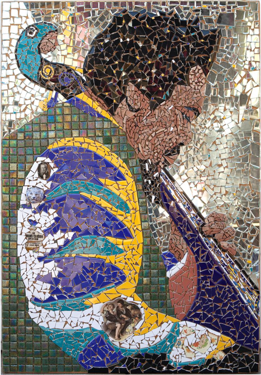 Ramses, Untitled. Mosaic. Photo by Natalie Hon.
