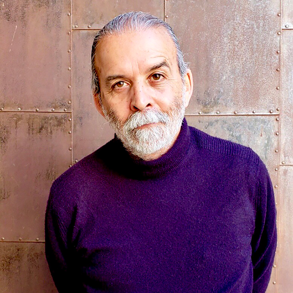 Artist, writer, and educator Harry Gamboa Jr, 2019. Photo by Barbara Carrasco.