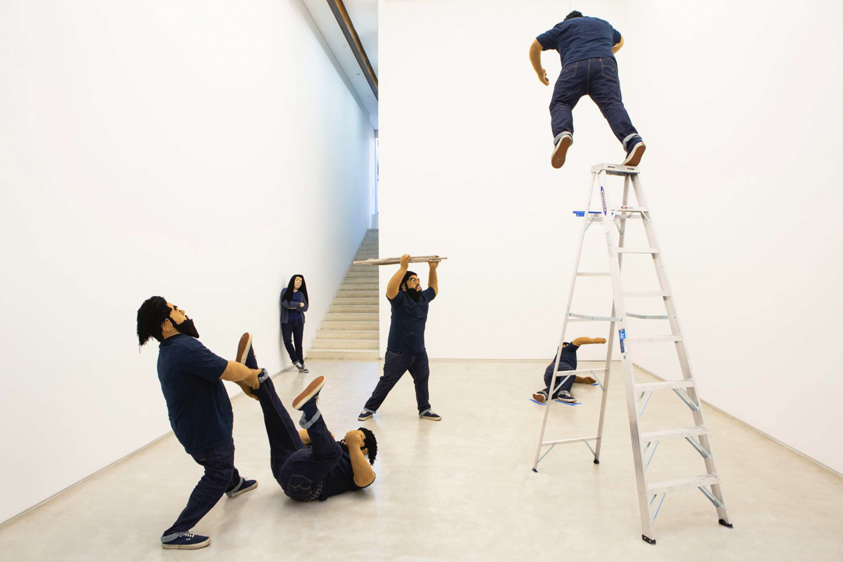 Vista de instalación de Another Thing You Did to Me, de Luis Flores en Salon 94, Nueva York. 5 de marzo - 20 de abril de 2019. Fotógrafo desconocido. Cortesía del artista y Salon 94, Nueva York.