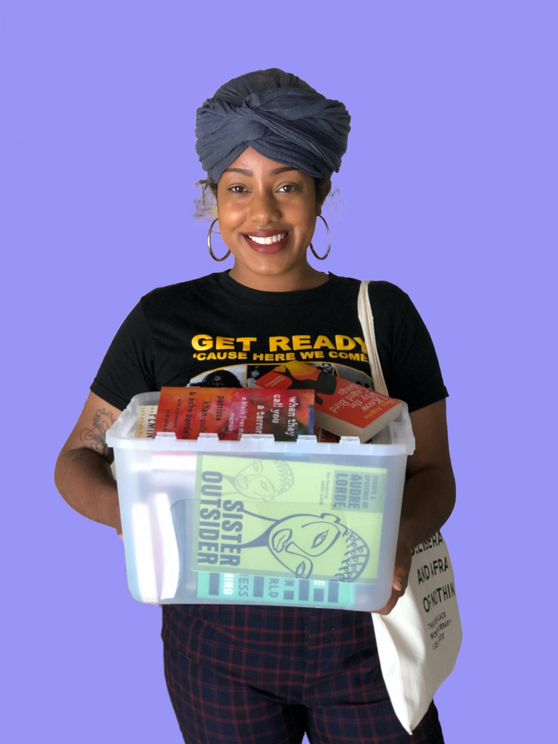 Asha Grant. Photo by: Celia Ward-Wallace of South LA Cafe.