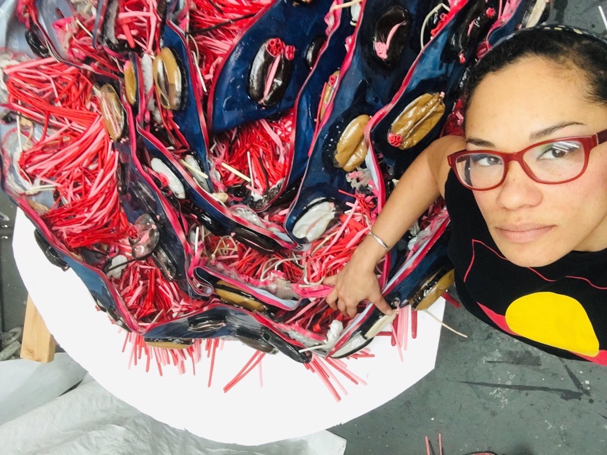 Alicia Piller. Photo by Ruben Diaz.