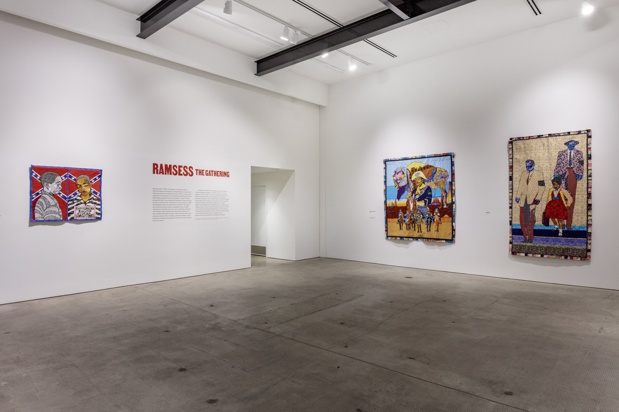 Installation view of Ramsess: The Gathering at Art + Practice. 12 October 2019 - 25 January 2020. Photo by Joshua White.