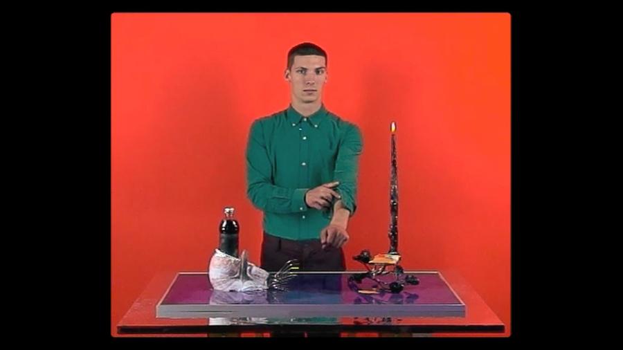 Alex Da Corte, The Impossible (video still), 2012. Standard digital video, TRT 11:01. Courtesy of the artist.
