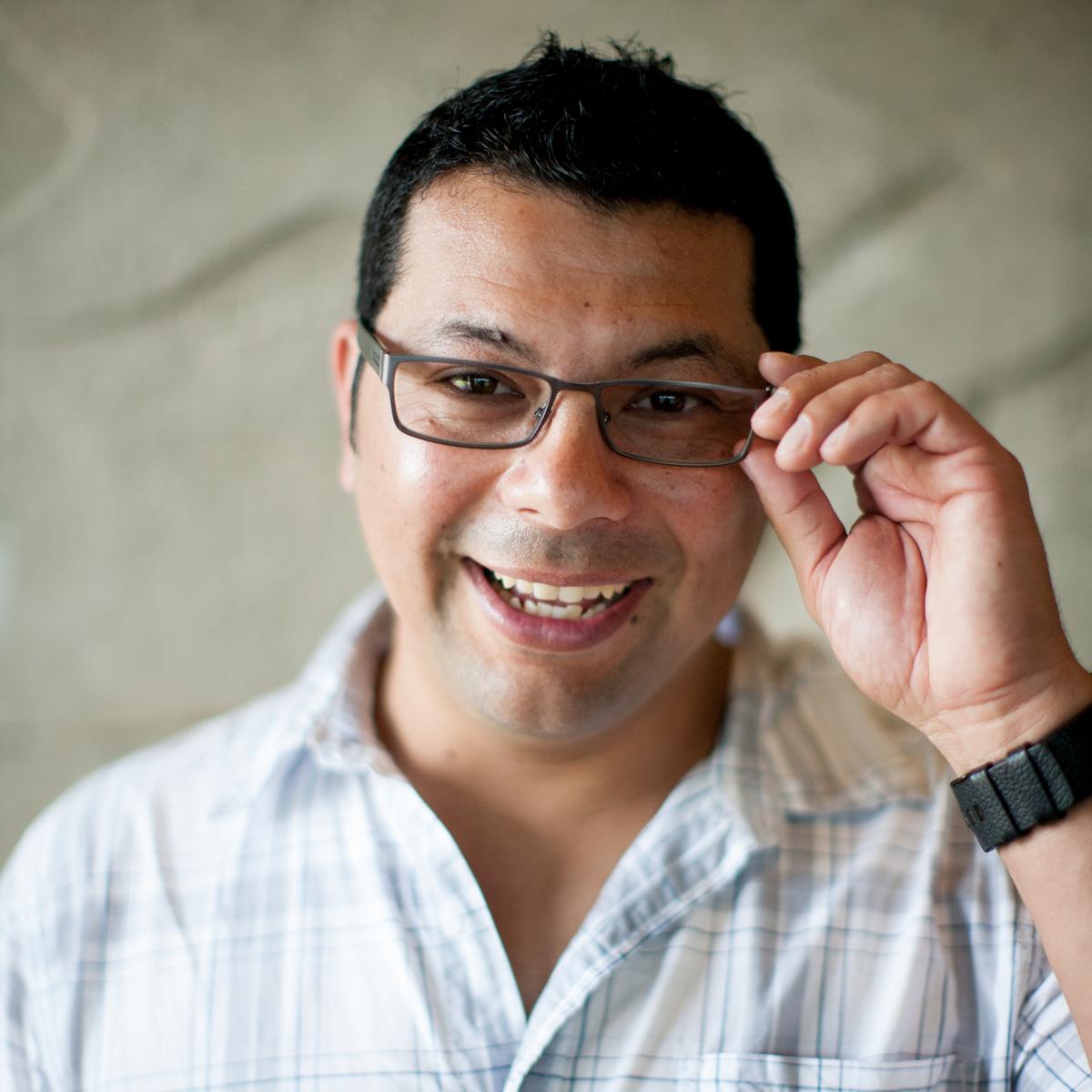 Ruben Ochoa. Photo by Allison V. Smith.
