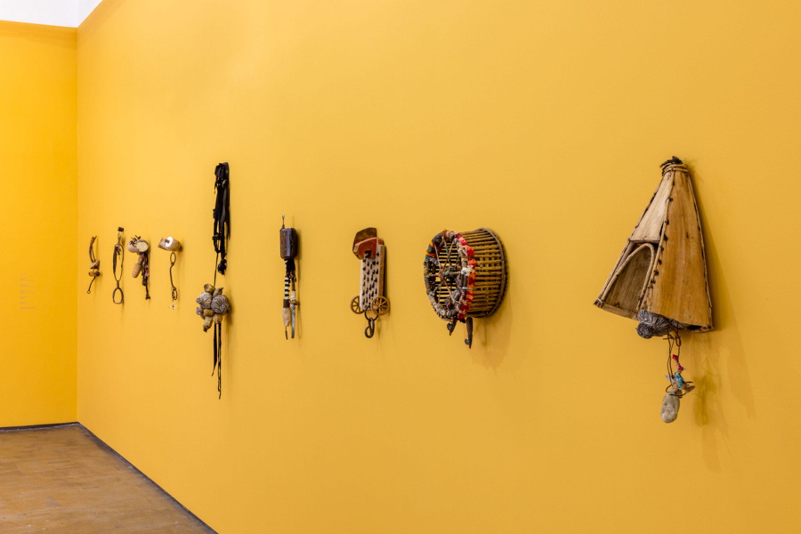 John Outterbridge: Rag Man, installation view, Art + Practice, Los Angeles. December 12, 2015 - February 27, 2016. Photo by Joshua White.