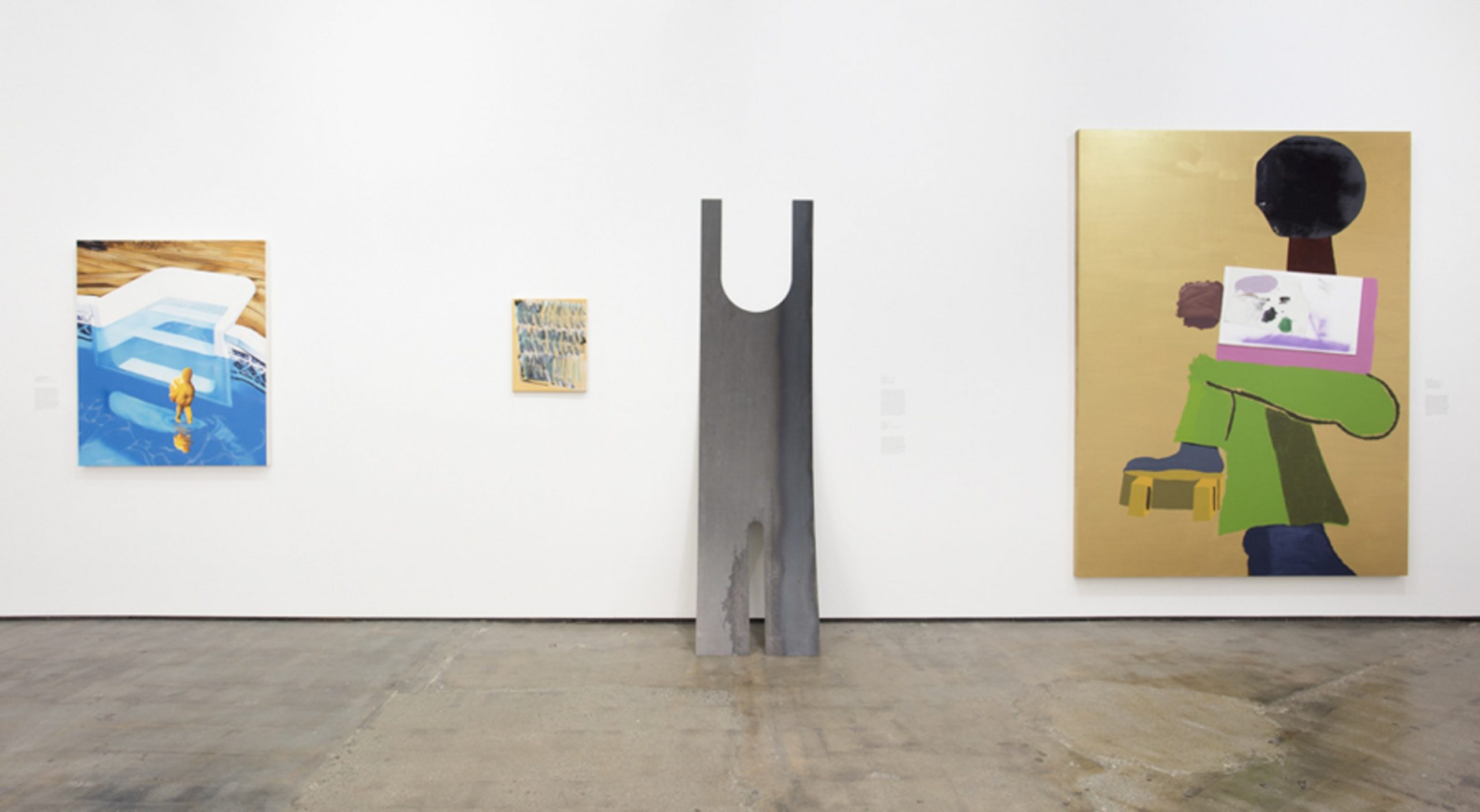 A Shape That Stands Up, exhibition view. Courtesy Art + Practice.