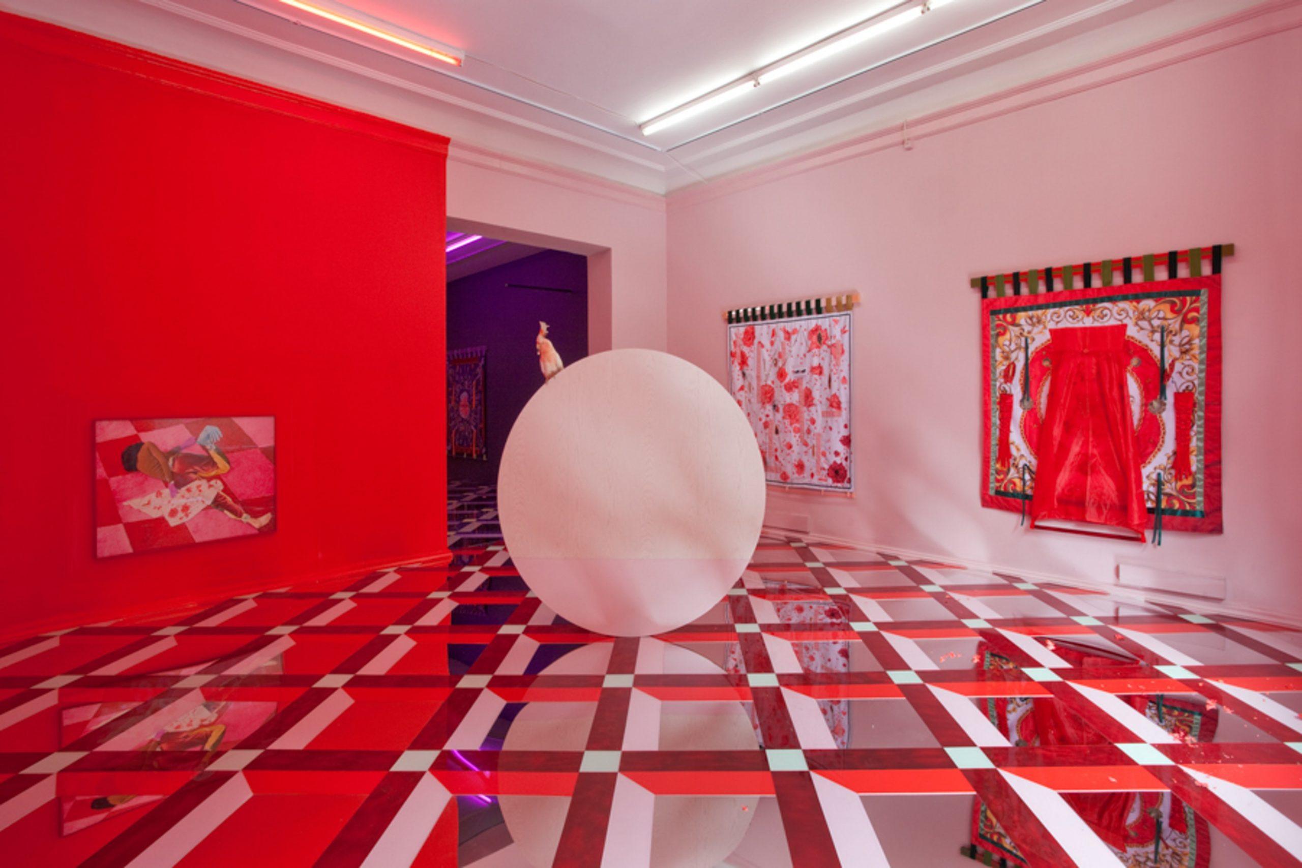 Opening tomorrow, Alex Da Corte's new off-site Hammer Museum show is a site-specific multimedia installation, incorporating a survey of recent video work. Pictured: Delirium I, David Risley Gallery, Copenhagen, 2014.