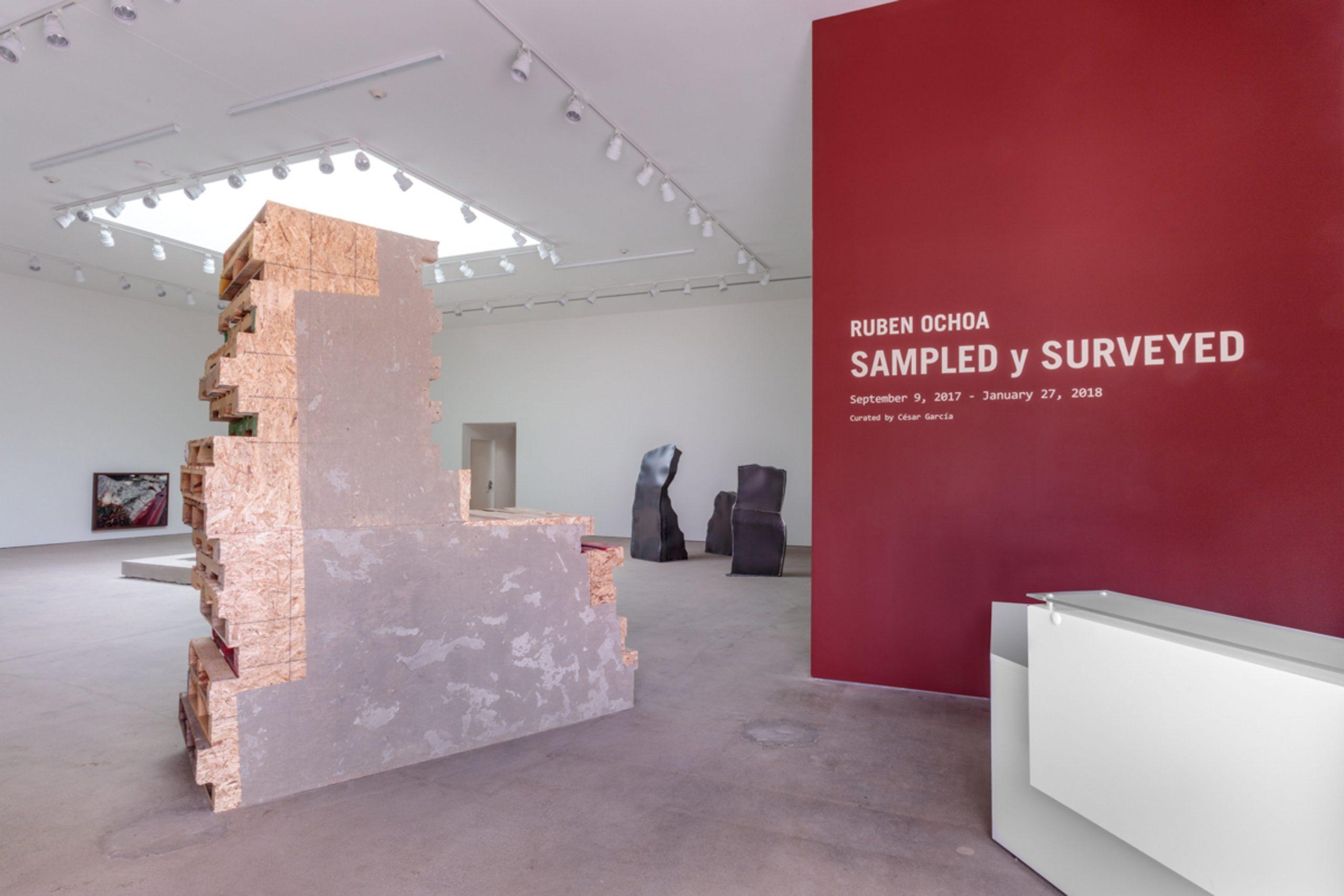 Ruben Ochoa: SAMPLED y SURVEYED at Art + Practice, Los Angeles. 9 September 2017 - 27 January 2018. Photo by Joshua White/JWPictures.com.