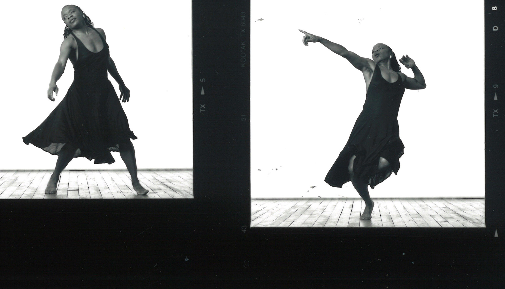 Cherry Kim, Contact Sheet for Blondell Cummings in